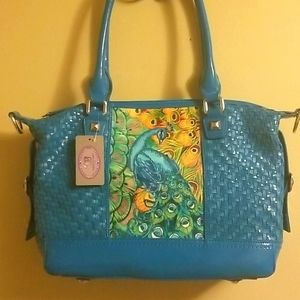 🦚NWT Sharif leather bag